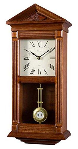 Gallo 06102ENEA1411 Regulator Klassisch Nussbaum Wanduhr Westminster -