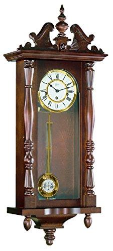 Hermle Uhrenmanufaktur 70110-030341 Pendelwanduhr Regulateur, nussbaum -